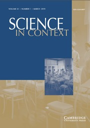 Science in Context Volume 32 - Issue 1 -  Scientific Medicine and the Politics of Public Health: Minorities in Interwar Eastern Europe