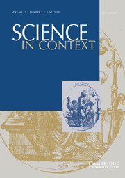 Science in Context Volume 32 - Issue 2 -  Youthful minds and hands: Learning practical knowledge in early modern Europe