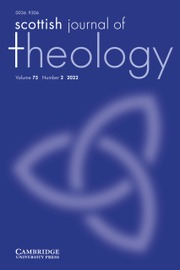 Scottish Journal of Theology