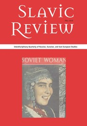 Slavic Review Volume 78 - Issue 3 -