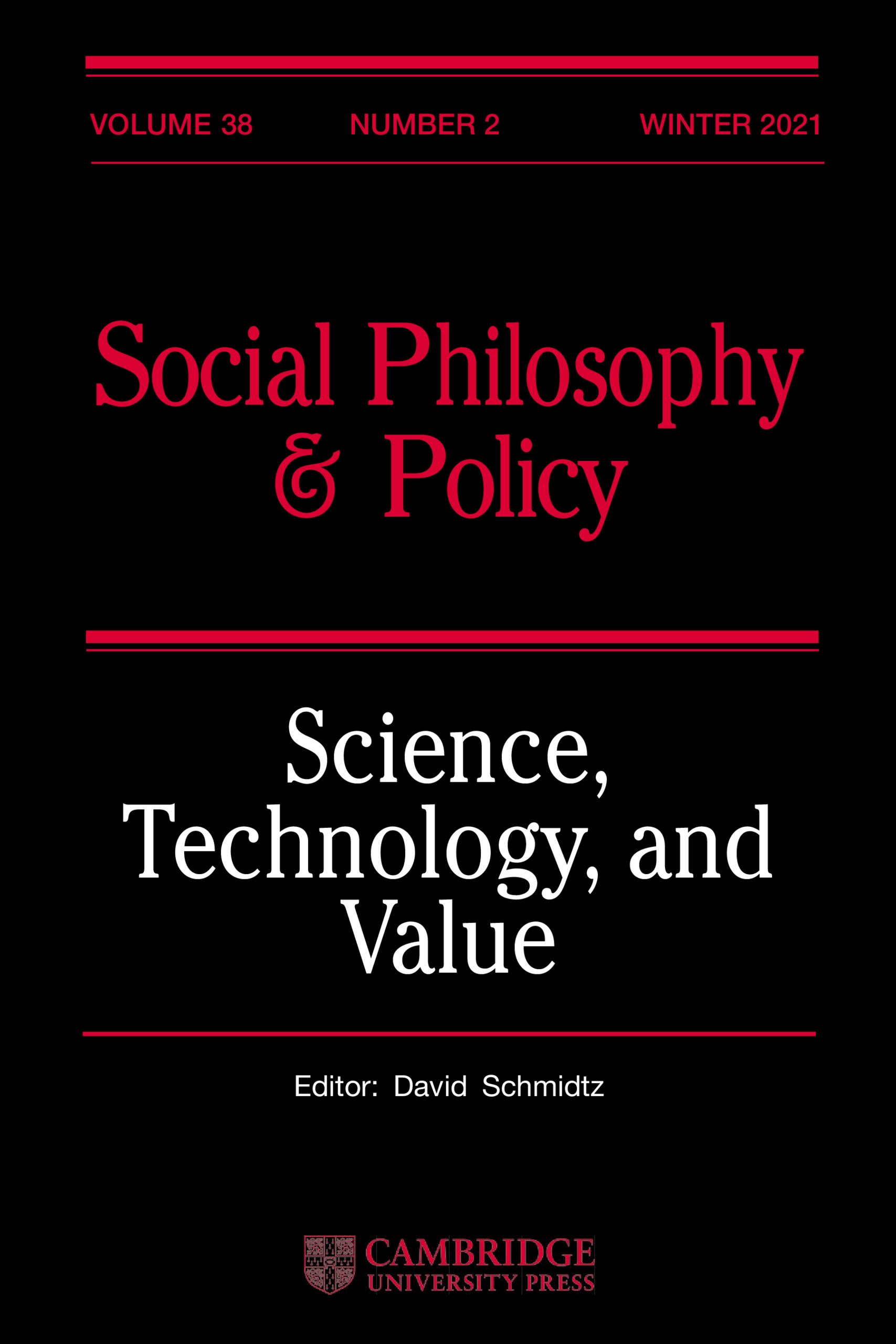 Social Philosophy and Policy