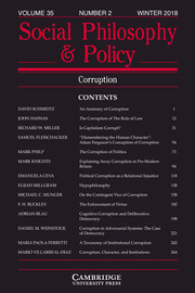 Social Philosophy and Policy Volume 35 - Issue 2 -