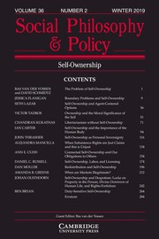 Social Philosophy and Policy Volume 36 - Issue 2 -