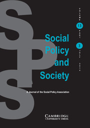 Social Policy and Society Volume 13 - Issue 3 -