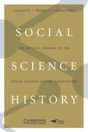 Social Science History Volume 39 - Issue 2 -