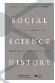 Social Science History Volume 41 - Issue 2 -