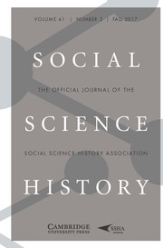 Social Science History Volume 41 - Issue 3 -