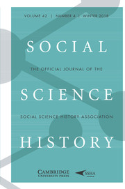 Social Science History Volume 42 - Issue 4 -
