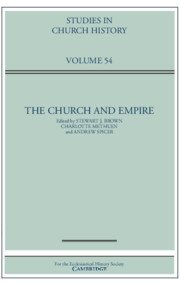Studies in Church History Volume 54 - Issue  -