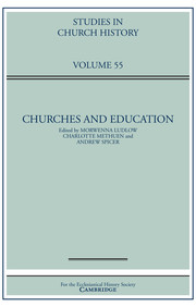 Studies in Church History Volume 55 - Issue  -