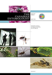 The Canadian Entomologist Volume 148 - Issue 4 -