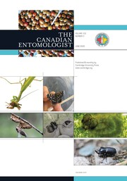 The Canadian Entomologist Volume 152 - Issue 3 -