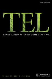 Transnational Environmental Law