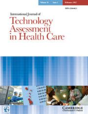 International Journal of Technology Assessment in Health Care Volume 33 - Issue 1 -