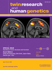 Twin Research and Human Genetics Volume 15 - Special Issue3 -  Genetics of brain structure and function