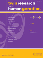 Twin Research and Human Genetics Volume 17 - Issue 3 -