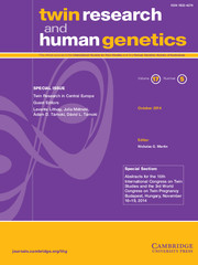 Twin Research and Human Genetics Volume 17 - Issue 5 -  Twin Research in Central Europe