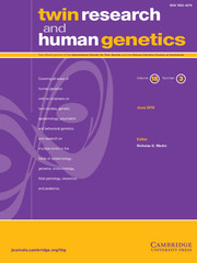 Twin Research and Human Genetics Volume 18 - Issue 3 -