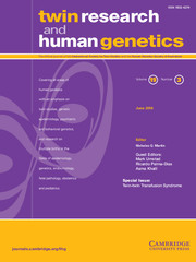 Twin Research and Human Genetics Volume 19 - Special Issue3 -  Twin-twin Transfusion Syndrome