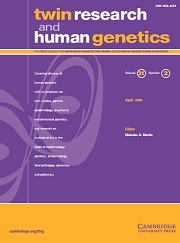 Twin Research and Human Genetics Volume 21 - Issue 2 -