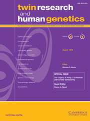 Twin Research and Human Genetics Volume 21 - Special Issue4 -  The Legacy of Irving I. Gottesman (29/12/1930-29/06/2016)