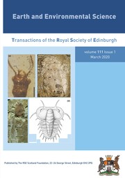 Earth and Environmental Science Transactions of The Royal Society of Edinburgh Volume 111 - Issue 1 -