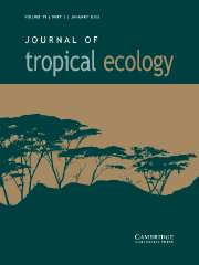 Journal of Tropical Ecology Volume 19 - Issue 1 -