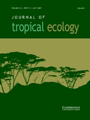 Journal of Tropical Ecology Volume 23 - Issue 4 -