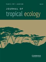 Journal of Tropical Ecology Volume 24 - Issue 1 -