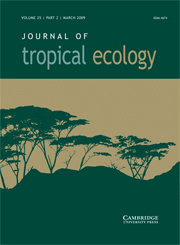 Journal of Tropical Ecology Volume 25 - Issue 2 -