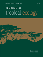 Journal of Tropical Ecology Volume 26 - Issue 1 -