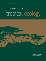 Journal of Tropical Ecology Volume 27 - Issue 4 -