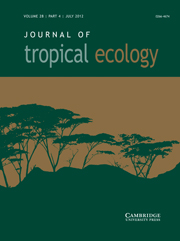Journal of Tropical Ecology Volume 28 - Issue 4 -