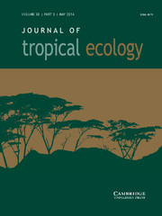 Journal of Tropical Ecology Volume 30 - Issue 3 -