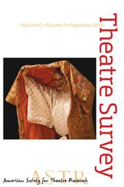 Theatre Survey Volume 60 - Issue 3 -