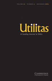 Utilitas Volume 21 - Issue 4 -