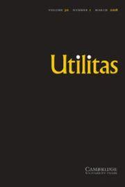 Utilitas Volume 30 - Issue 1 -