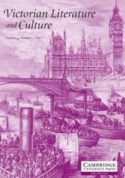 Victorian Literature and Culture Volume 39 - Issue 1 -