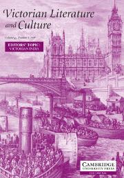Victorian Literature and Culture Volume 42 - Issue 3 -  EDITORS' TOPIC: VICTORIAN INDIA