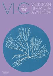Victorian Literature and Culture Volume 47 - Issue 2 -