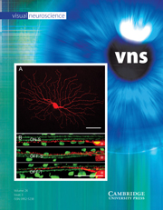 Visual Neuroscience Volume 26 - Issue 3 -