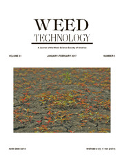 Weed Technology Volume 31 - Issue 1 -