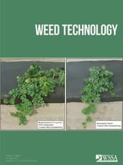Weed Technology Volume 32 - Issue 4 -