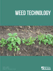 Weed Technology Volume 33 - Issue 1 -