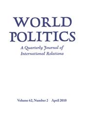 World Politics Volume 62 - Issue 2 -