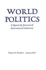 World Politics Volume 65 - Issue 1 -