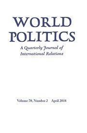 World Politics Volume 70 - Issue 2 -