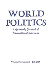 World Politics Volume 70 - Issue 3 -
