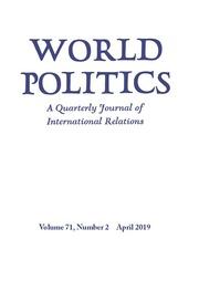 World Politics Volume 71 - Issue 2 -