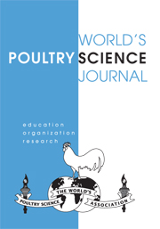 World's Poultry Science Journal Volume 62 - Issue 3 -